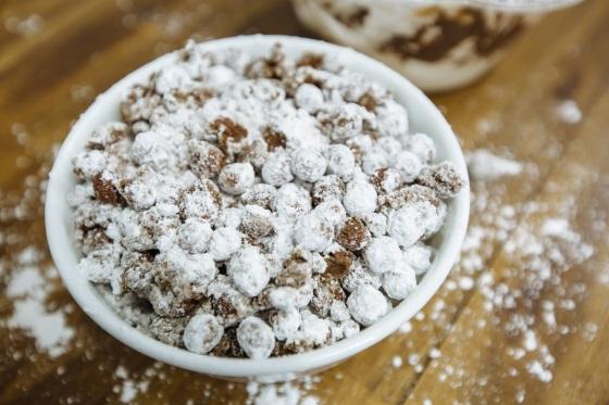 chocolade cereals met frosting