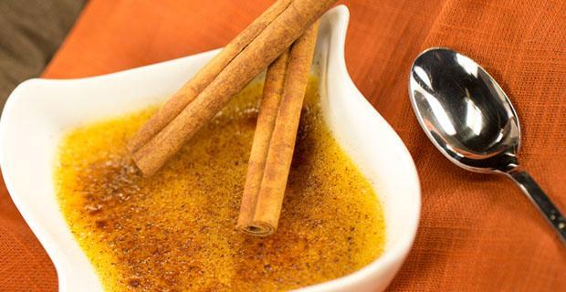 spiced creme brulee